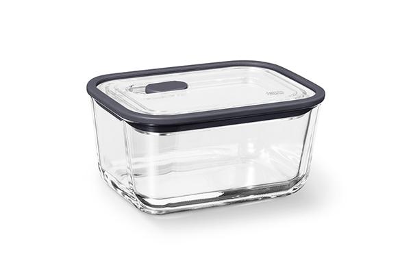 方形耐熱玻璃保鮮盒(中)800ML
