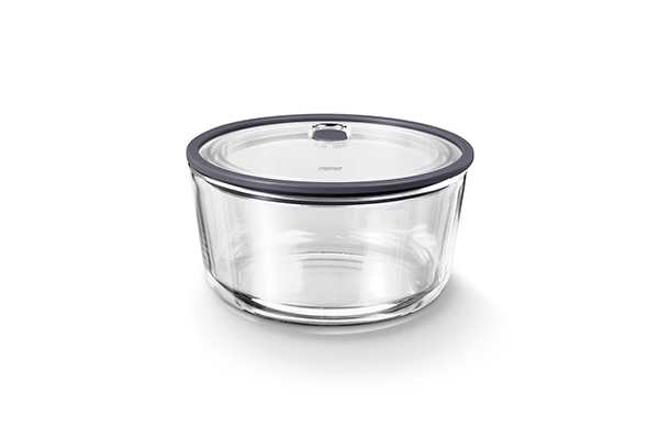 圓形耐熱玻璃保鮮盒(大)1,550ML